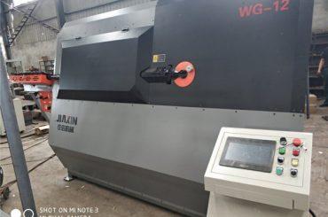 4-12 mm hydraulisk automatisk cnc 2D ledningsbøjningsmaskine leverandør
