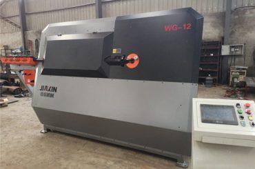 4mm-12mm hydraulisk cnc stålbjælkebænder, bøjlebøjningsmaskine, automatisk stålbøjlebøjemaskine