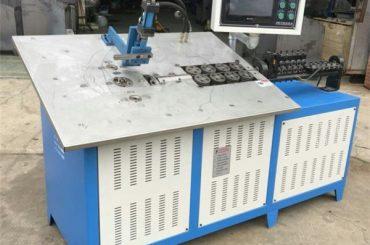 varmt salg automatisk 3d ståltråd danner maskine cnc, 2d wire bøjning maskine pris