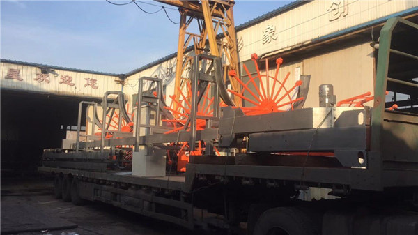 Automatisk stålbjælkefremstillings maskine