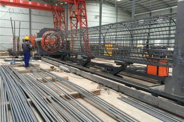 bedste pris svejset trådnet rulle maskine, forstærkning bur søm svejser diameter 500-2000mm