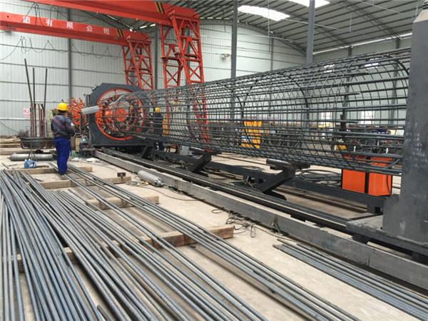 Bedste pris svejset trådnet rulle maskine, Forstærkning cage søm svejser diameter 500-2000mm