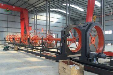 cnc stål bur svejse maskine stål rulle søm svejser brug til bygning