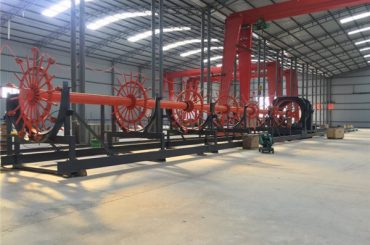 Konstruktion Pile bur svejse maskine søm svejser med ISO